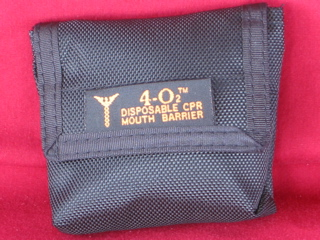 CPR belt pouch