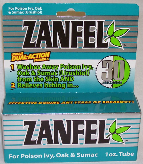 Zanfel poison Ivy Treatment