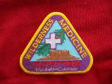WMO Embroidered patch